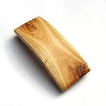 Ozdoby do vlasov - Drevená spona do vlasov - topoľová stredná - 10585393_