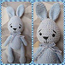 Hračky - Zajačik modráčik - 10588362_
