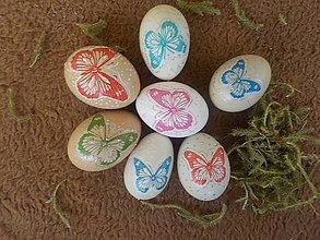Dekorácie - Veľkonočné vajíčka - 10588493_