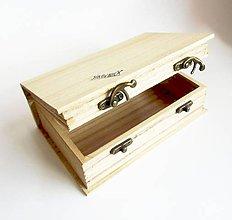 Polotovary - Krabička v tvare knihy, 19,5x12,5 cm - 10587642_