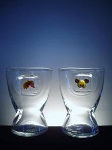 Nádoby - sklenka va vroucí nápoje s figurkou na přání - 10587634_