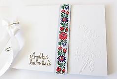 Papiernictvo - svadobná kniha hostí - 10587266_
