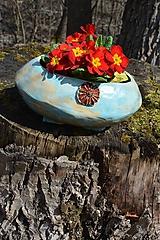 Nádoby - keramický kvetináč - 10587717_