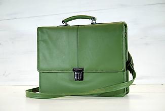 Veľké tašky - Pánska aktovka - Mikelo No.2 + peňaženka zadarmo - 10588527_