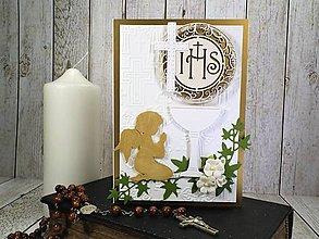 Papiernictvo - 1.sväté prijímanie III. pohľadnica - 10587069_