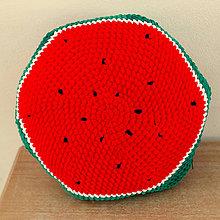 Úžitkový textil - vankúšik - melón - 10587938_
