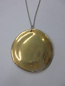 Náhrdelníky - Prívesok kruh 81 - 10587923_