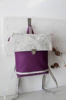 Batohy - Koženkový  batoh - 10589059_