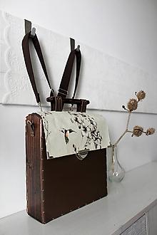 Batohy - Drevený batoh/aktovka/kabelka - 10589269_