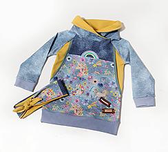 Detské oblečenie - Štýlová mikina - UNICORN - 10586724_