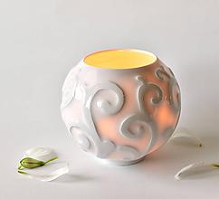 Svietidlá a sviečky - (Pro)svítání - 10589498_