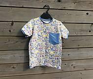 Detské oblečenie - Tričko - magický úplet - 10589518_