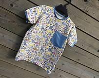 Detské oblečenie - Tričko - magický úplet - 10589519_