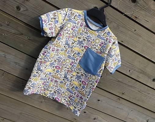 Tričko - magický úplet