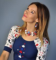 Tričká - Tričko Sailor - modré - 10586907_
