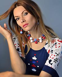 Sady šperkov - Sailor - sada šperkov (Modrá) - 10587097_
