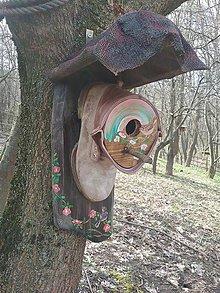 Pre zvieratká - búdka pre vtáčika.. - 10587128_