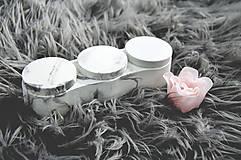 Nádoby - Betónový úložný mini box Locus Marble (Čierno-biela) - 10587347_