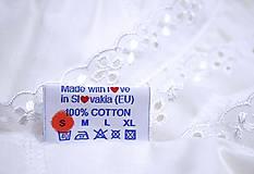 Pyžamy a župany - červená Búvajka s krátkym rukávom - 10586852_