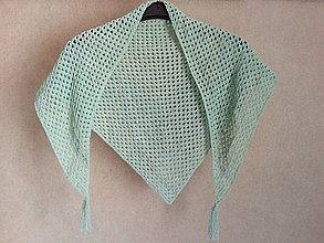 Iné oblečenie - Ručne háčkovaná šatka - 10588919_