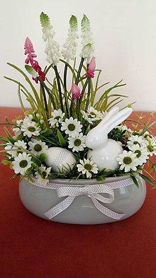 Dekorácie - Jarna dekoracia v keramike - 10587953_
