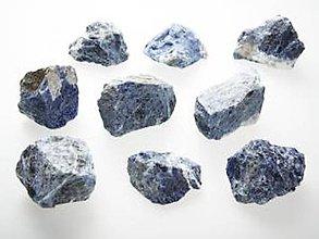 Minerály - Sodalist - netromlovaný - prírodný - 10587798_