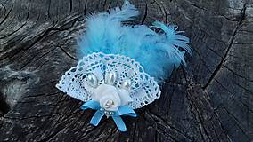 Odznaky/Brošne - nežne modrá - 10588422_
