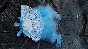 Odznaky/Brošne - nežne modrá - 10588423_