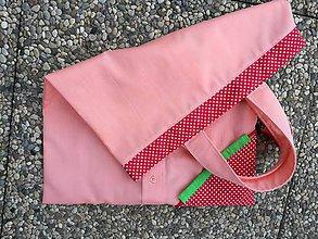 Nákupné tašky - Zero Waste Skladacia ekologická nákupná taška. - 10588615_
