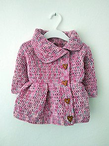 Detské oblečenie - Svetríkokabátik - 10591342_