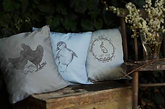 Úžitkový textil - Veľkonočné poťahy na vankúš - 10590389_