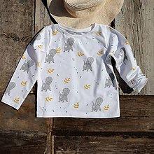 Detské oblečenie - veverky(vel.110) - 10591002_