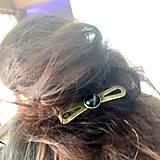 Ozdoby do vlasov - Vintage Elegant Opalite Hair Clip / Vintage spona s opalitom /2063 - 10590415_