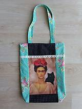 Veľké tašky - Kabela Frida Kahlo - 10591098_