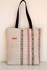 - Veľká ľanová taška  - 10590169_