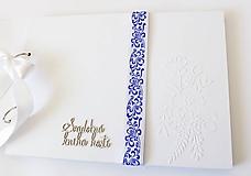 Papiernictvo - svadobná kniha hostí - 10589629_