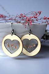 Náušnice - Náušnice Srdce z lásky (2584 A CHO) - 10590457_