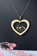 Náhrdelníky - Náhrdelník Srdce pre milú (2585 B CHO) - 10590538_