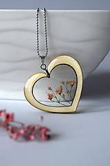Náhrdelníky - Náhrdelník Srdce pre milú (2585 B CHO) - 10590548_