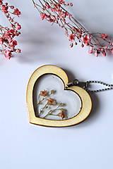 Náhrdelníky - Náhrdelník Srdce pre milú (2585 B CHO) - 10590549_