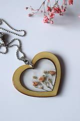 Náhrdelníky - Náhrdelník Srdce pre milú (2585 B CHO) - 10590553_