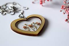 Náhrdelníky - Náhrdelník Srdce pre milú (2585 B CHO) - 10590554_