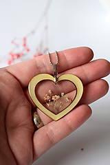Náhrdelníky - Náhrdelník Srdce pre milú (2585 B CHO) - 10590555_