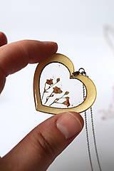 Náhrdelníky - Náhrdelník Srdce pre milú (2585 B CHO) - 10590564_