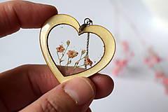 Náhrdelníky - Náhrdelník Srdce pre milú (2585 B CHO) - 10590565_
