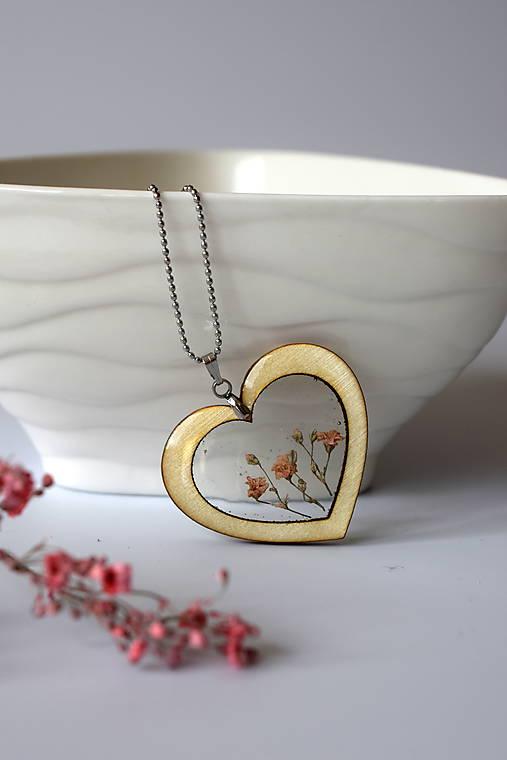 Náhrdelník Srdce pre milú (2585 B CHO)