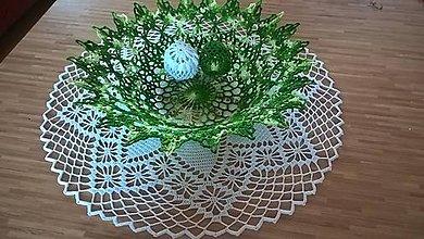 Dekorácie - Zeleno-biela dekorácia-Veľká Noc - 10589568_