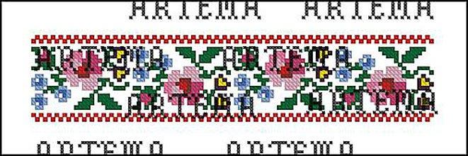 Návody a literatúra - L048 Flower Border - 10589722_