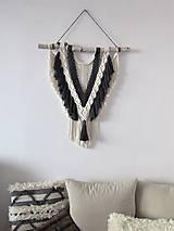 Dekorácie - Makramé závesná dekorácia NAVAJO - 10590461_