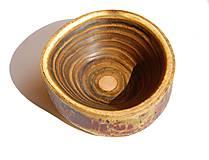 Nádoby - Drevená miska - Sumachová nádhera - 10590784_